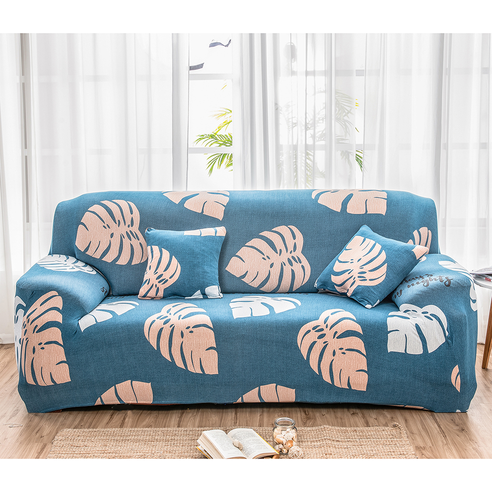 1-3 Seat Printed Sofa Slipcover Spandex Stretch Couch ...