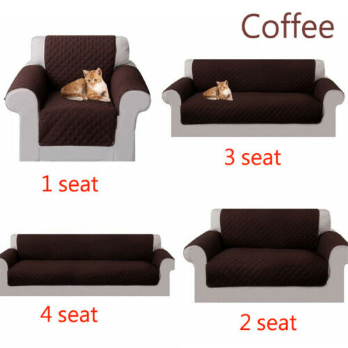 Reversible Sofa Couch Cover Pad Chair Throw Pet Dog Kids Mat Furniture Protector