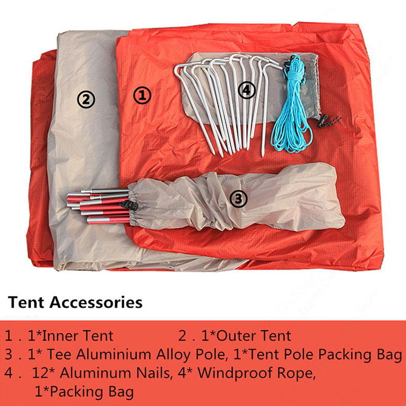 Instant-Pop-Up-2-Person-Camping-Tent-Waterproof-Backpacking-Hiking-Tent-4-Season thumbnail 9