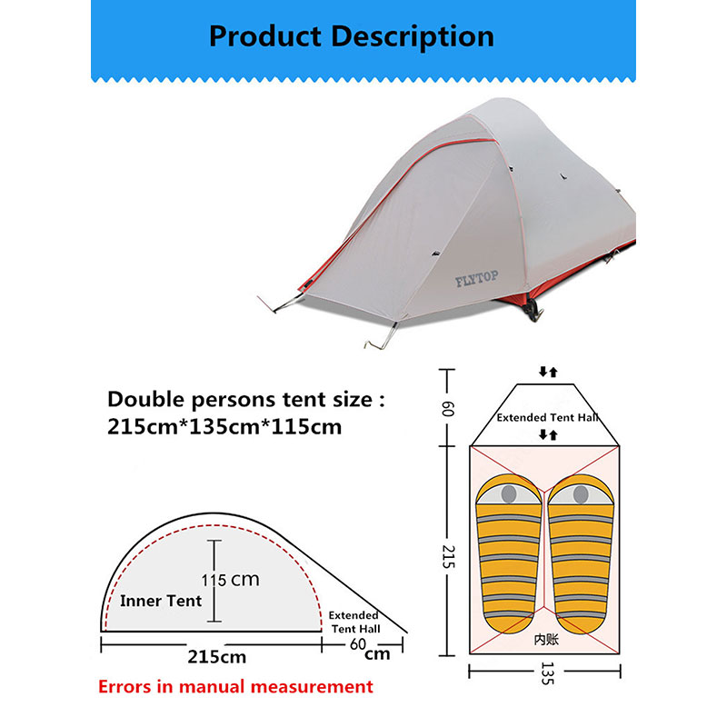 Instant-Pop-Up-2-Person-Camping-Tent-Waterproof-Backpacking-Hiking-Tent-4-Season thumbnail 11