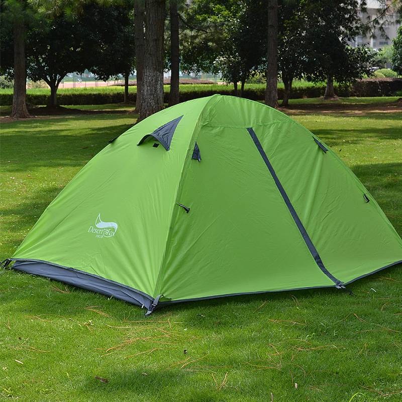 Waterproof-2-Person-Double-Layer-Camping-Tent-4-Seasons-Breathable-Ultralight thumbnail 15