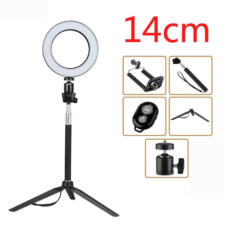 """12/"""" LED Ring Light Photography Selfie Photo Studio Video Youtube Live for Phone"""