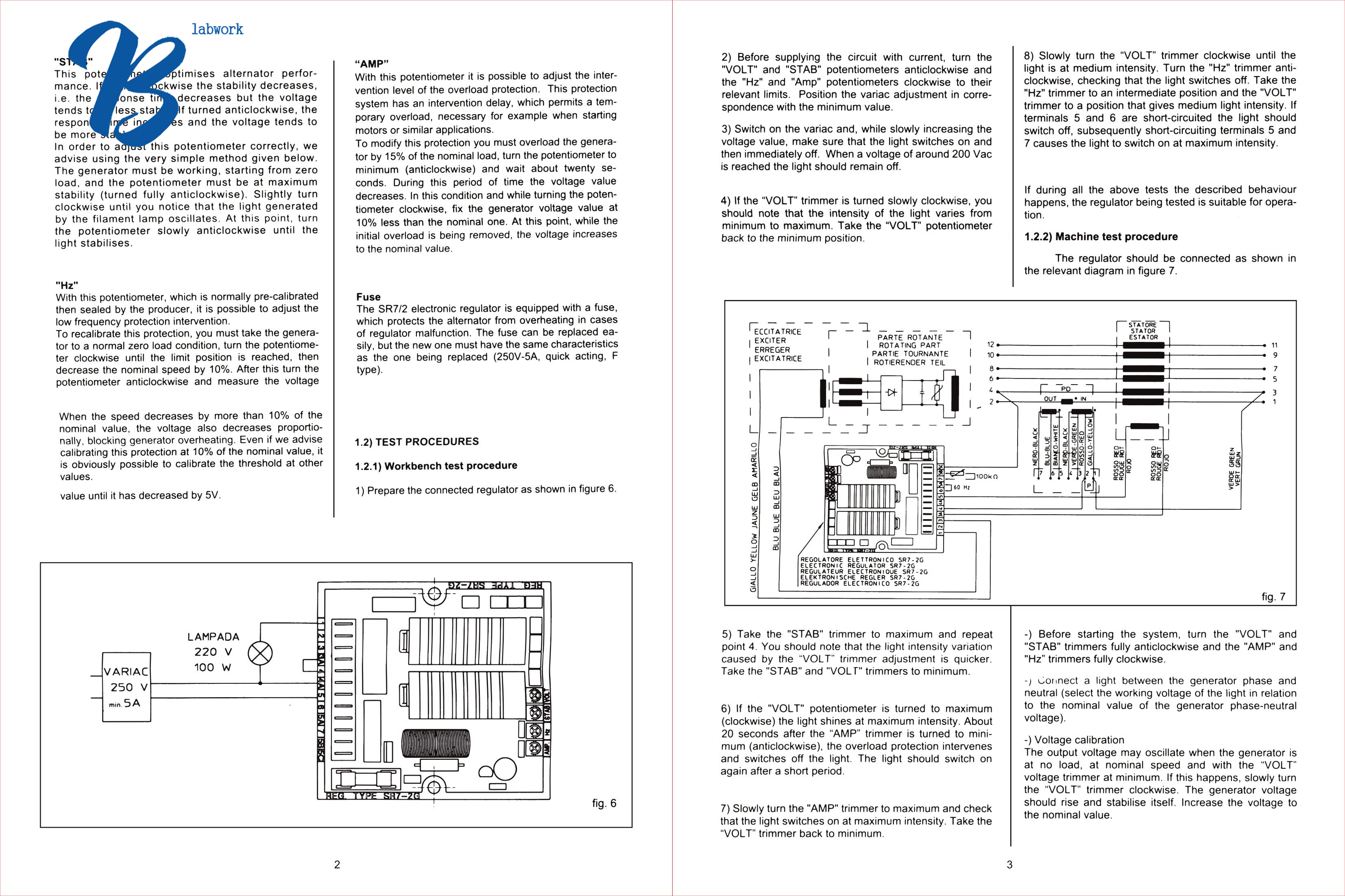 New Avr Sr7 Automatic Voltage Regulator Replacement For Meccalte Mecc Alte Wiring Diagram From Ca