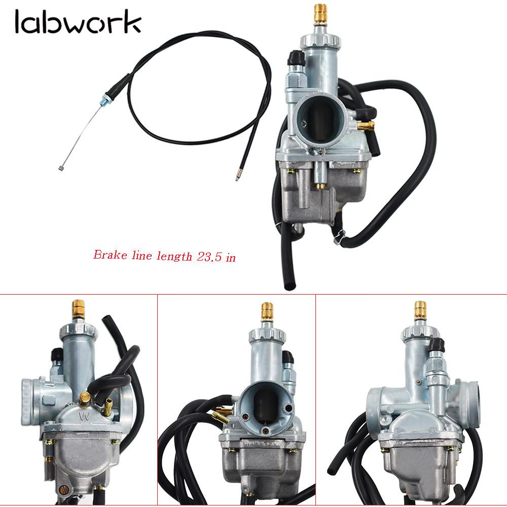 Air Filter For Kawasaki Bayou 220 250 KLF220A KLF250A NJ Carburetor