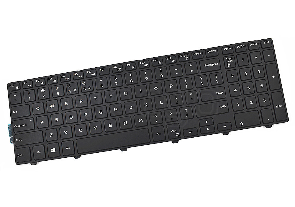 New keyboard for DELL Inspiron 15-5749 5576 5577 US Black backlit Free shipping