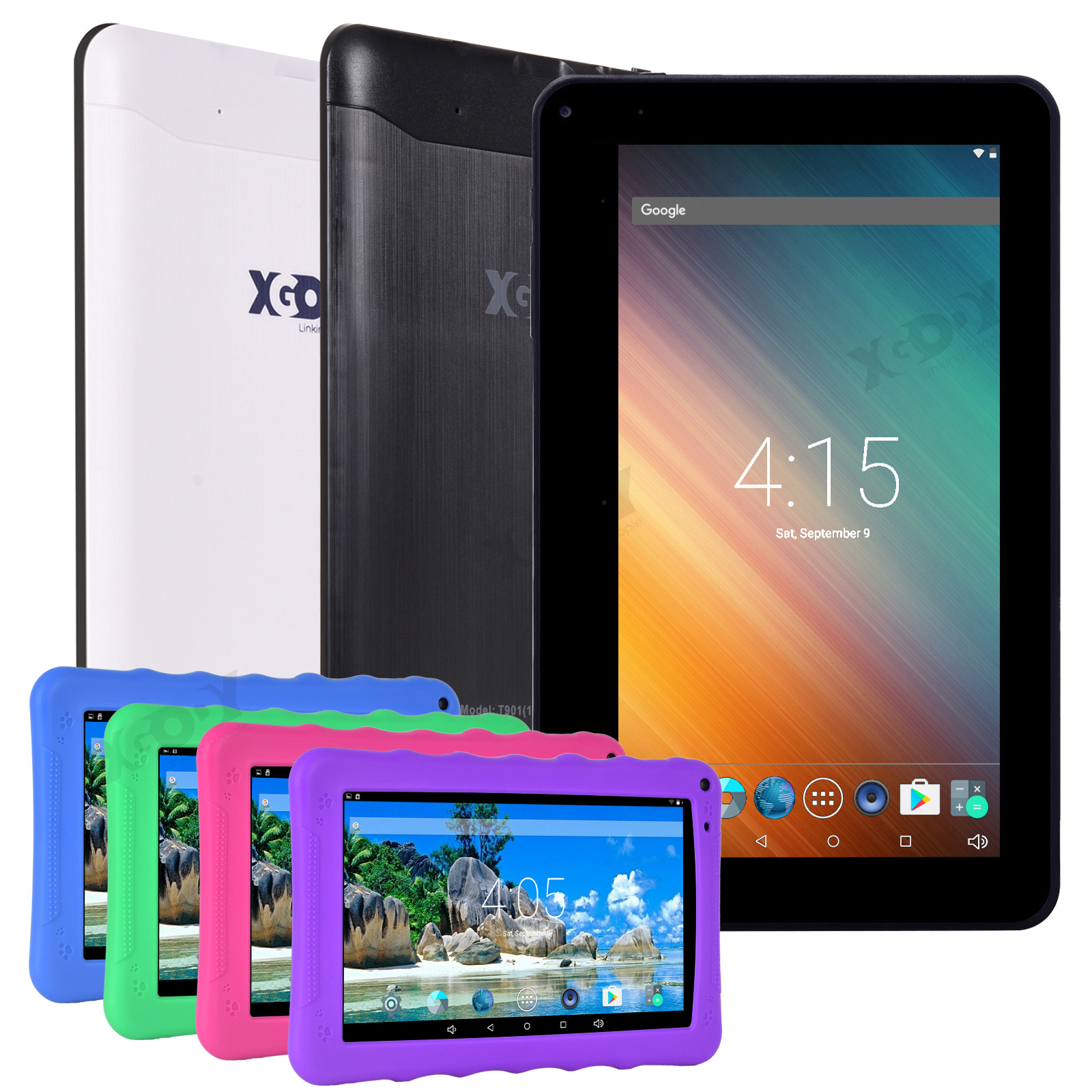 "XGODY 9"" INCH Tablet PC Android Quad Core 1+16GB Dual Camera"