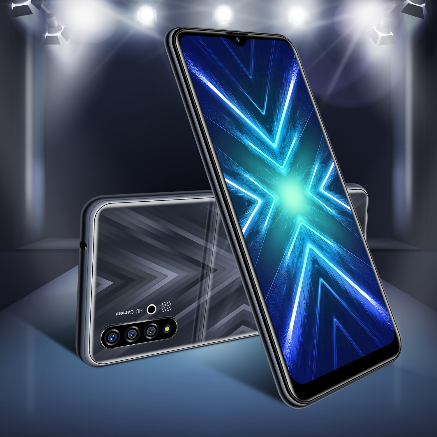 """2020 New 6.6"""" Unlocked 16GB Android 9.0 Smartphone Dual ..."""