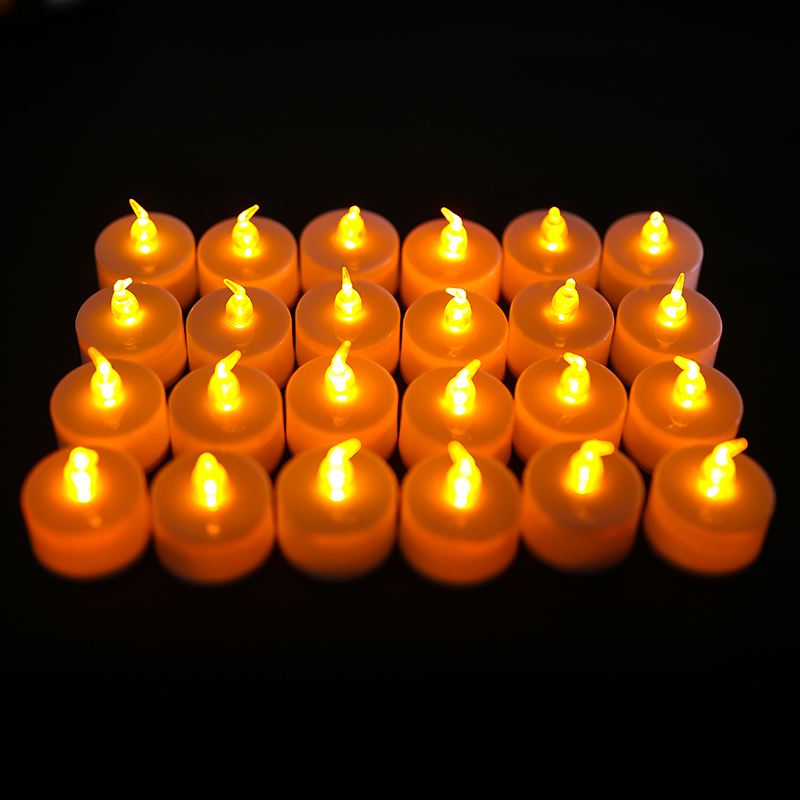 LED-Tea-Lights-Battery-Operated-Flameless-Flickering-Candles-Realistic-Wedding thumbnail 12
