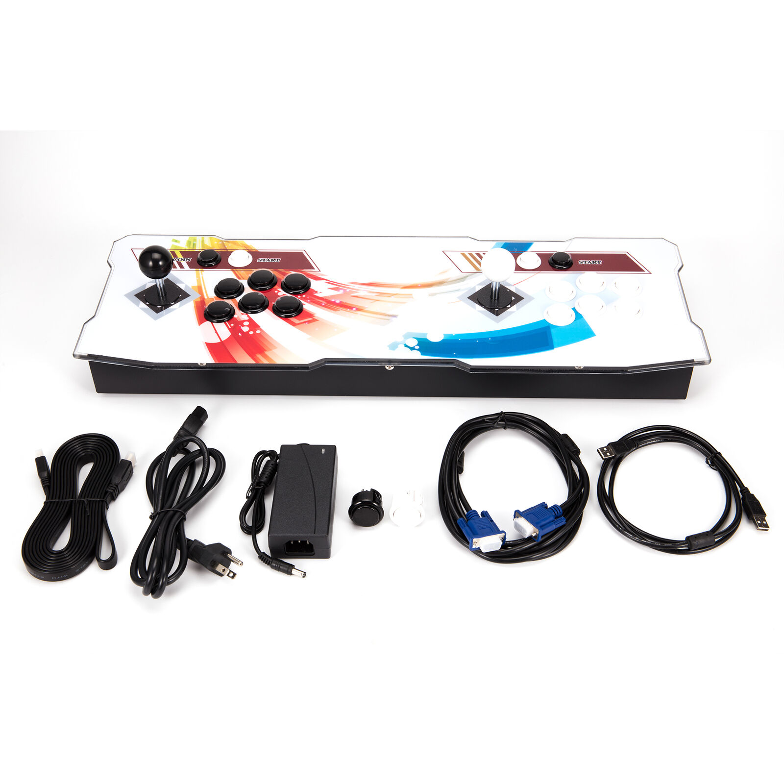Pandora-Box-3D-2448-Games-in-1-Retro-Video-Games-2-player-Arcade-Console-Support thumbnail 2