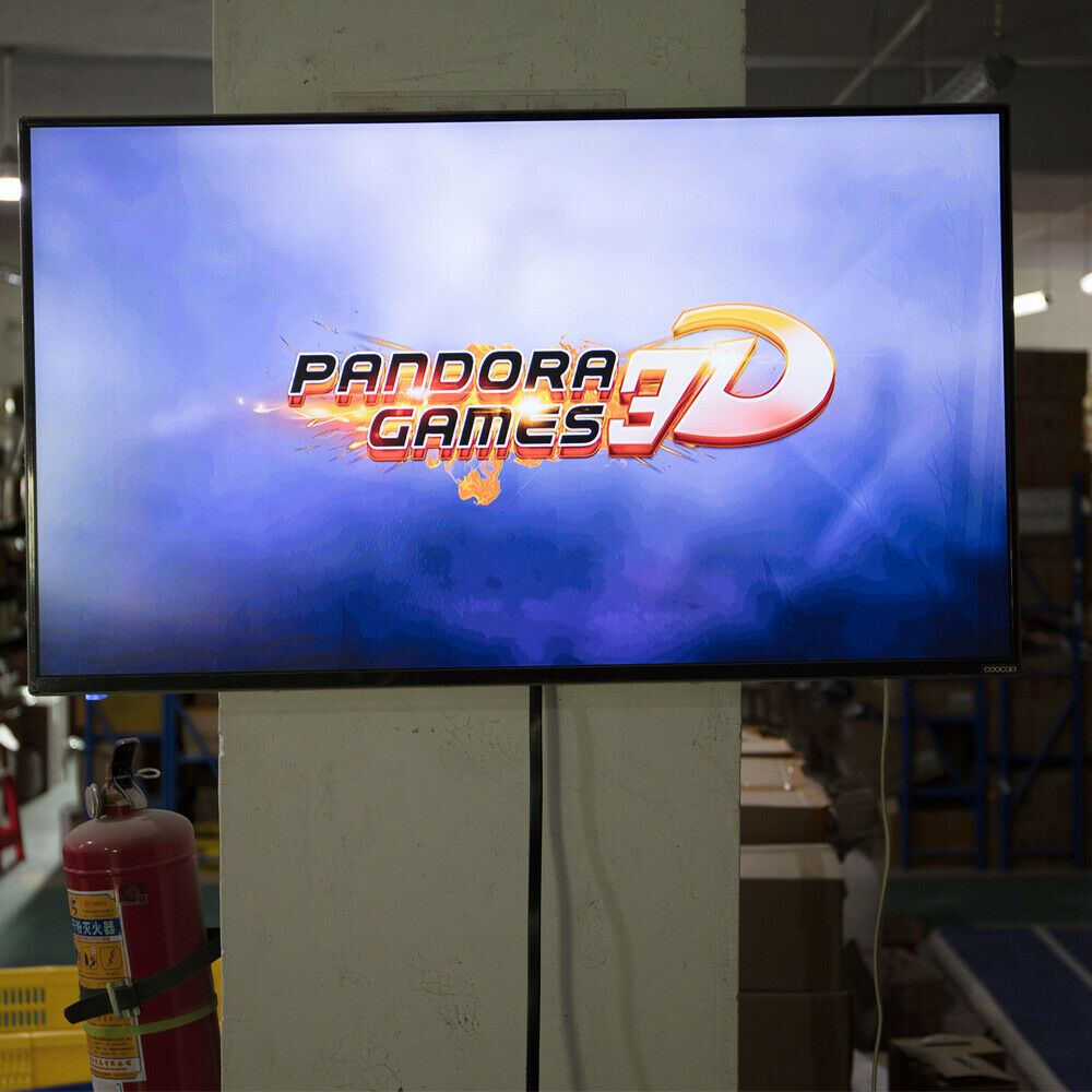 Upgraded-Pandora-039-s-Box-3D-2448-in-1-Retro-Arcade-Console-Double-Stick-Support-EU thumbnail 4