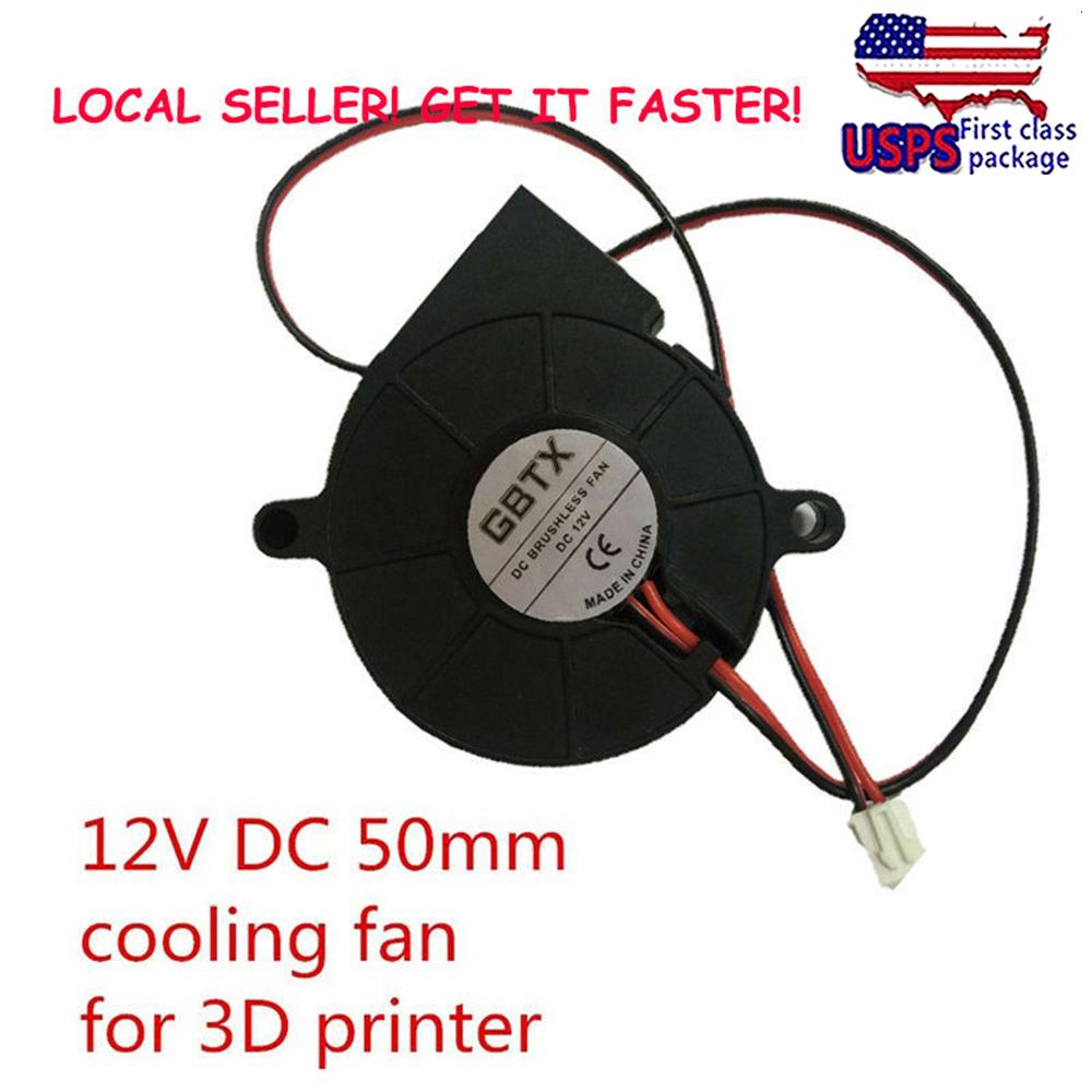 24V DC 50mm Blower Radial Cooling Fan Hotend Extruder For  3D Printer