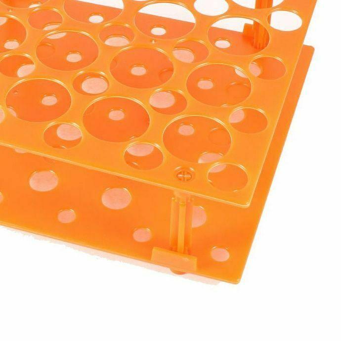 Reinforced Plastic Tube Rack for 10/15/50ml Conical Centrifuge Tubes Test Tubes 5