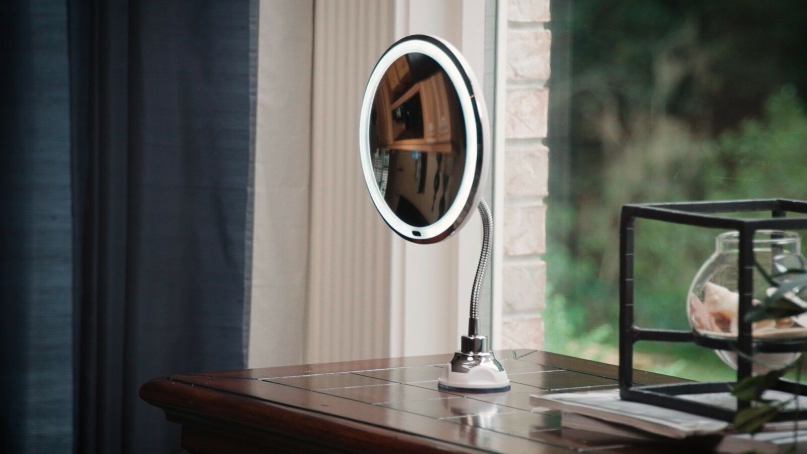 Flexible Illuminated Mirror Led 10x Magnifying Flexi With