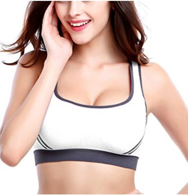 Women's X-Type Bra Fitness Underwear Yoga Sports Shockproof Top crop workout New
